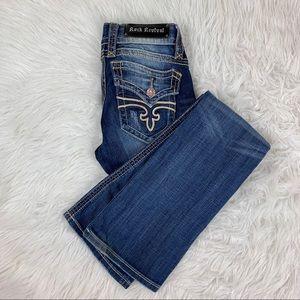 Rock Revival Womens Jeans Boot Cut Size 28